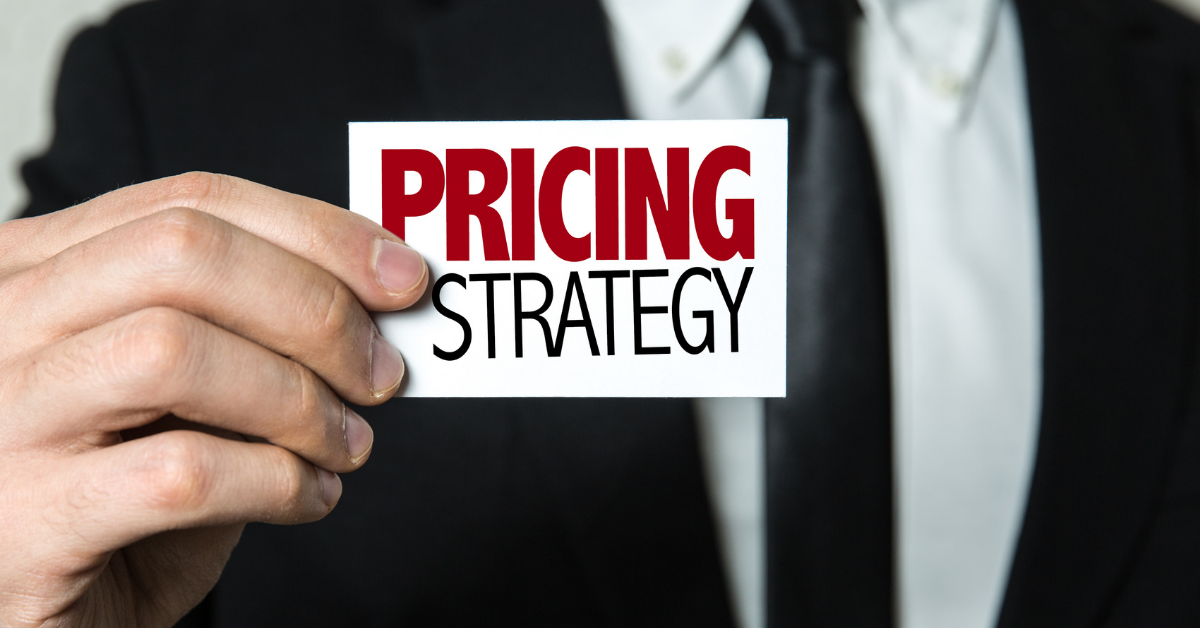 Pricing Strategy in Revenue Growth Management